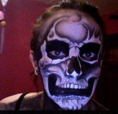 Body Painting Skull