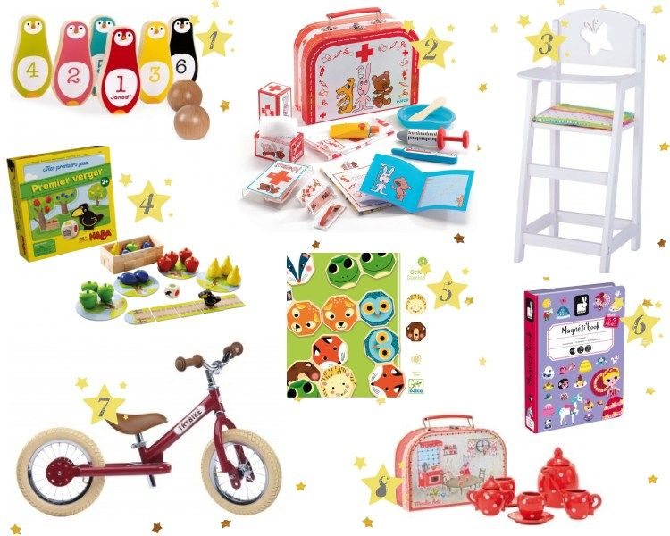 Idées cadeaux pour enfant 2 ans et demi Noël anniversaire | Idee