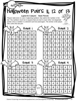 Halloween Math Games 2nd Grade Halloween Activities With Spiders Bats Ghosts Halloween Math Christmas Math Worksheets Kindergarten Math Worksheets Addition