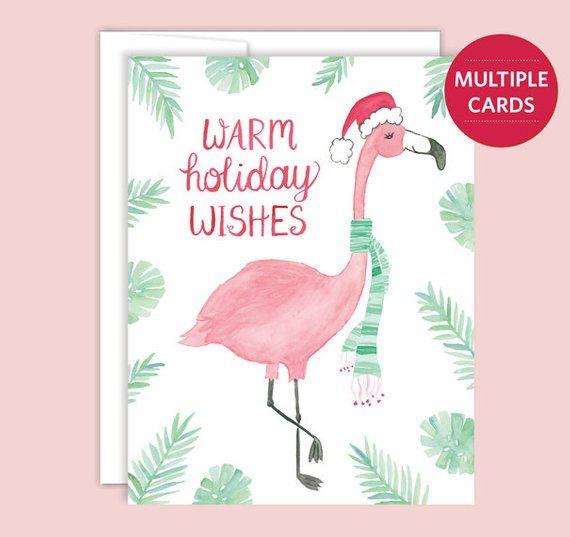 Flamingo Christmas Cards.Flamingo Holiday Cards Flamingo Christmas Card Florida