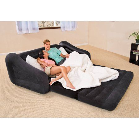 Free Shipping Buy Intex Queen Inflatable Pull Out Sofa Bed At