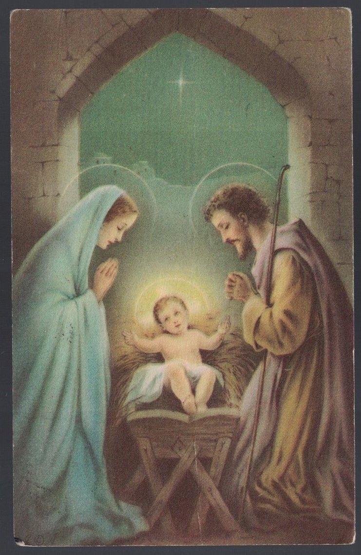 3 Wooden Nativity Scene Mary Joseph And Baby Jesus Holy Family Christmas Gift 14 00 Nativity Of Jesus Holy Family Christmas Jesus Mary And Joseph