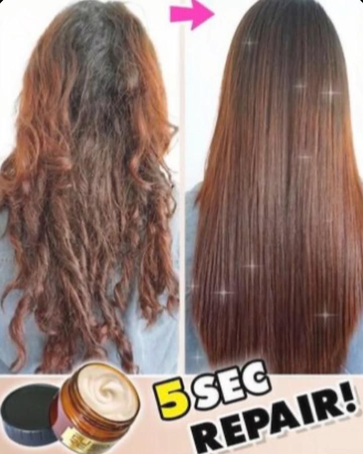 😍Transform your frizzy hair to silky soft in Secon