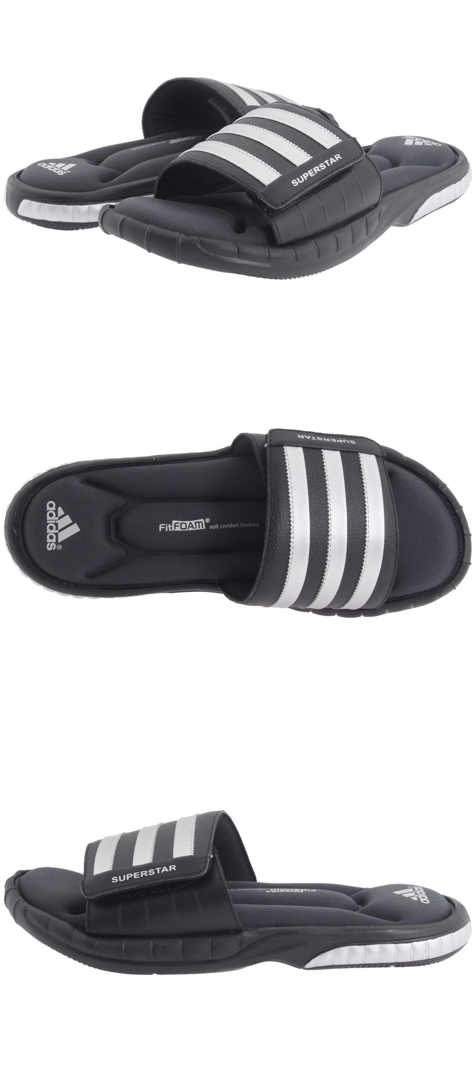 Sandals and Flip Flops 11504  Superstar Adidas 3G Black Slides Athletic  Sport Sandals G40165 Men S Sizes 7-13 -  BUY IT NOW ONLY   33 on eBay! 6f0c7d8d4