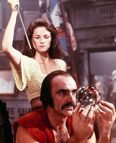 Zardoz - a little known Sean Connery movie cult classic