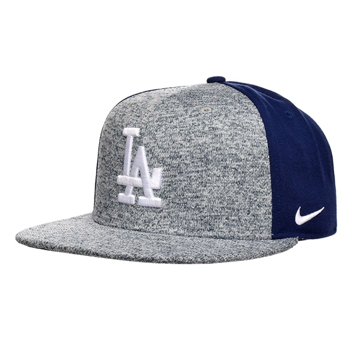 ad7c862b8b2 Nike Los Angeles Dodgers New Day True Snapback Hat (Gray)