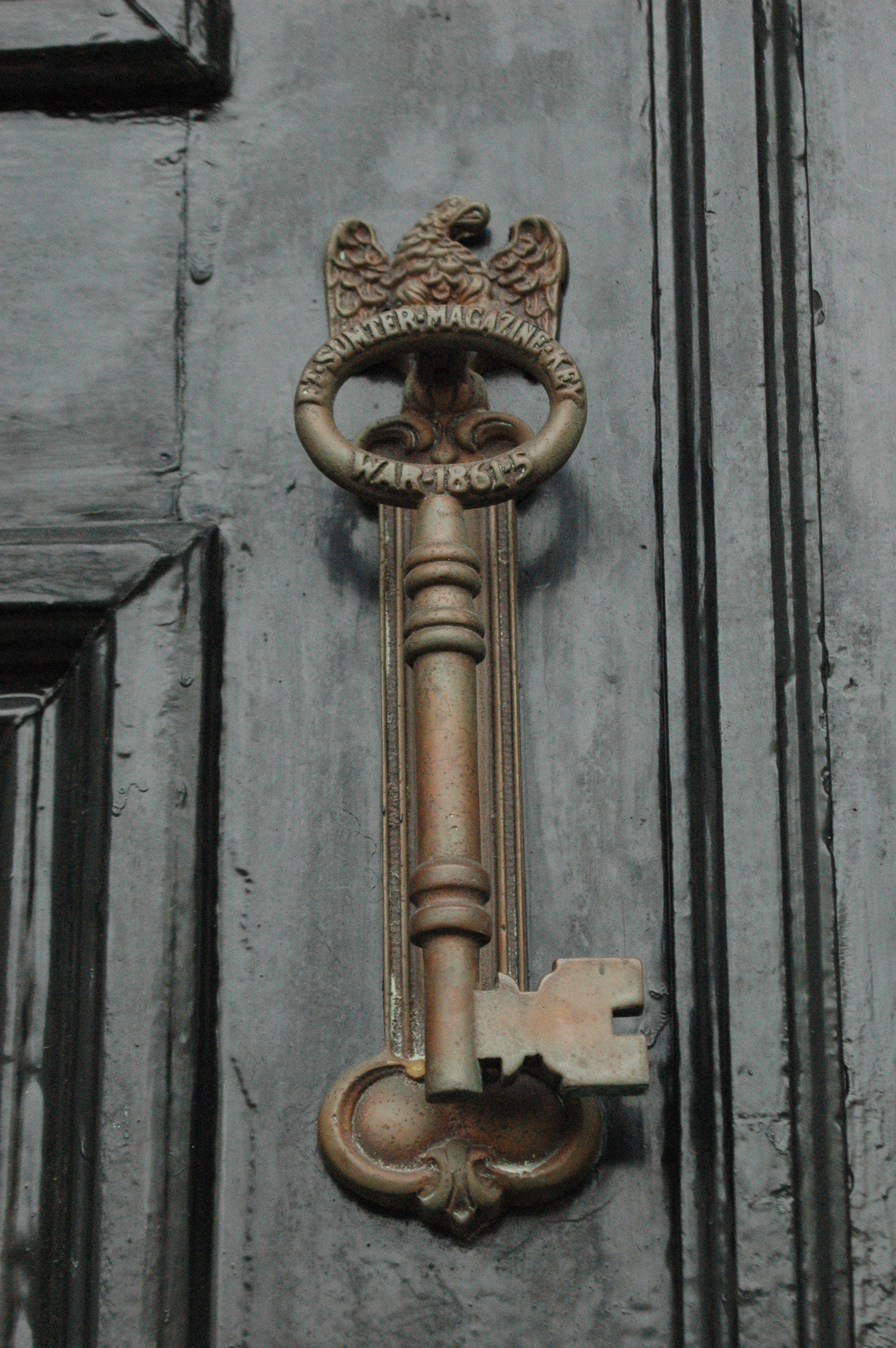 Charleston key door knocker door knocker pinterest doors key