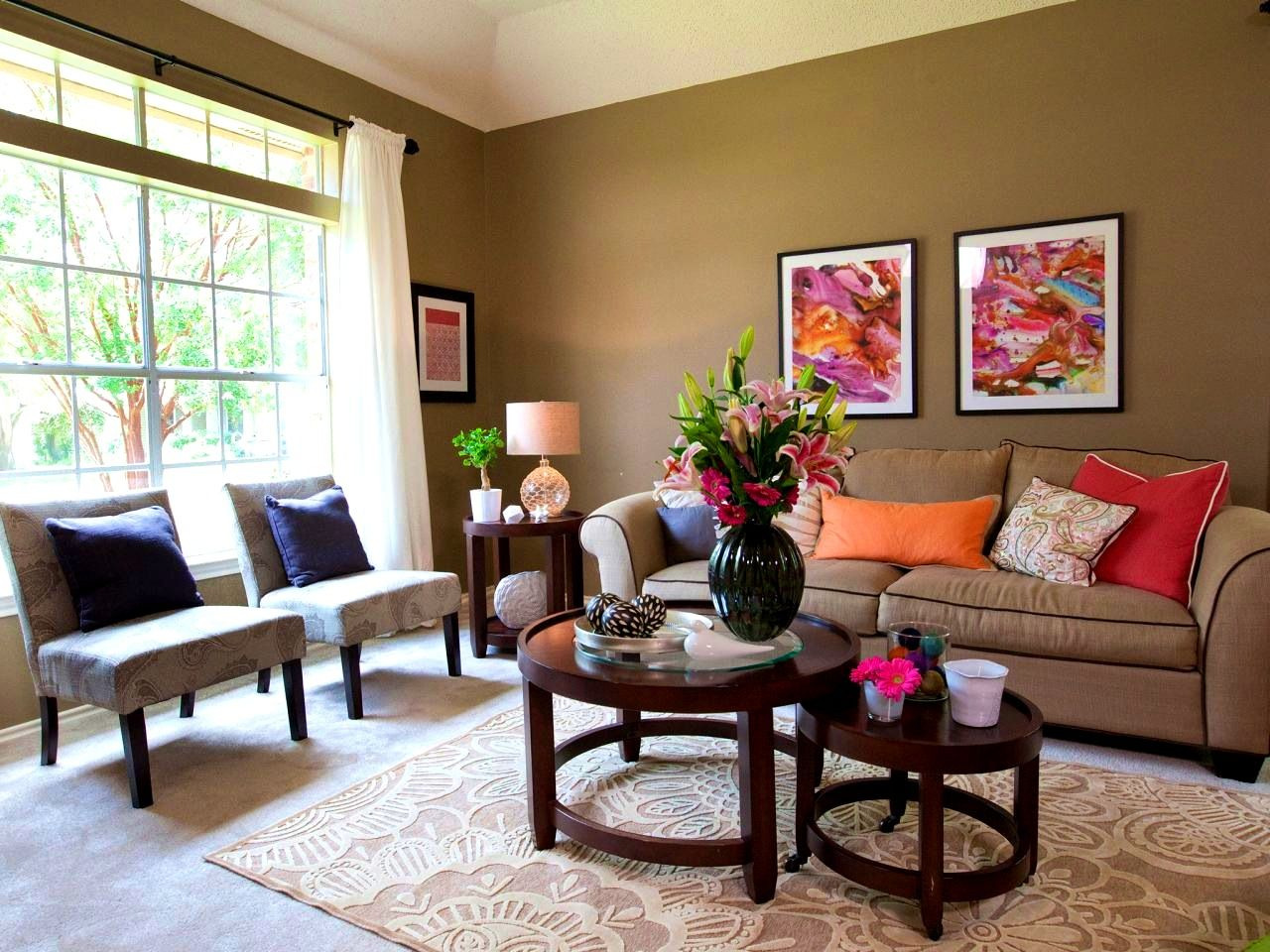 Earth Colors Paint apartments:splendid earth tone living room green wall paint and