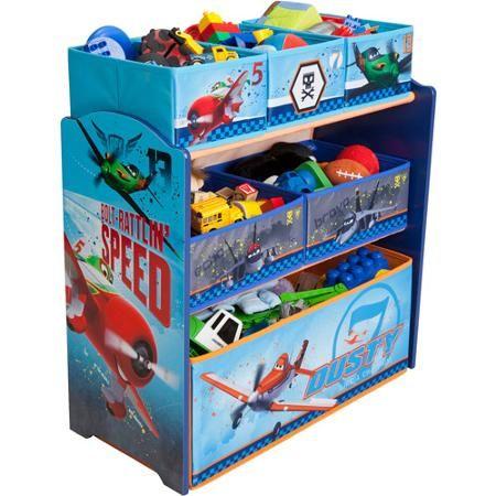 Delta Disney Planes Multi Bin Toy Organizer, Blue $25.00 | Get