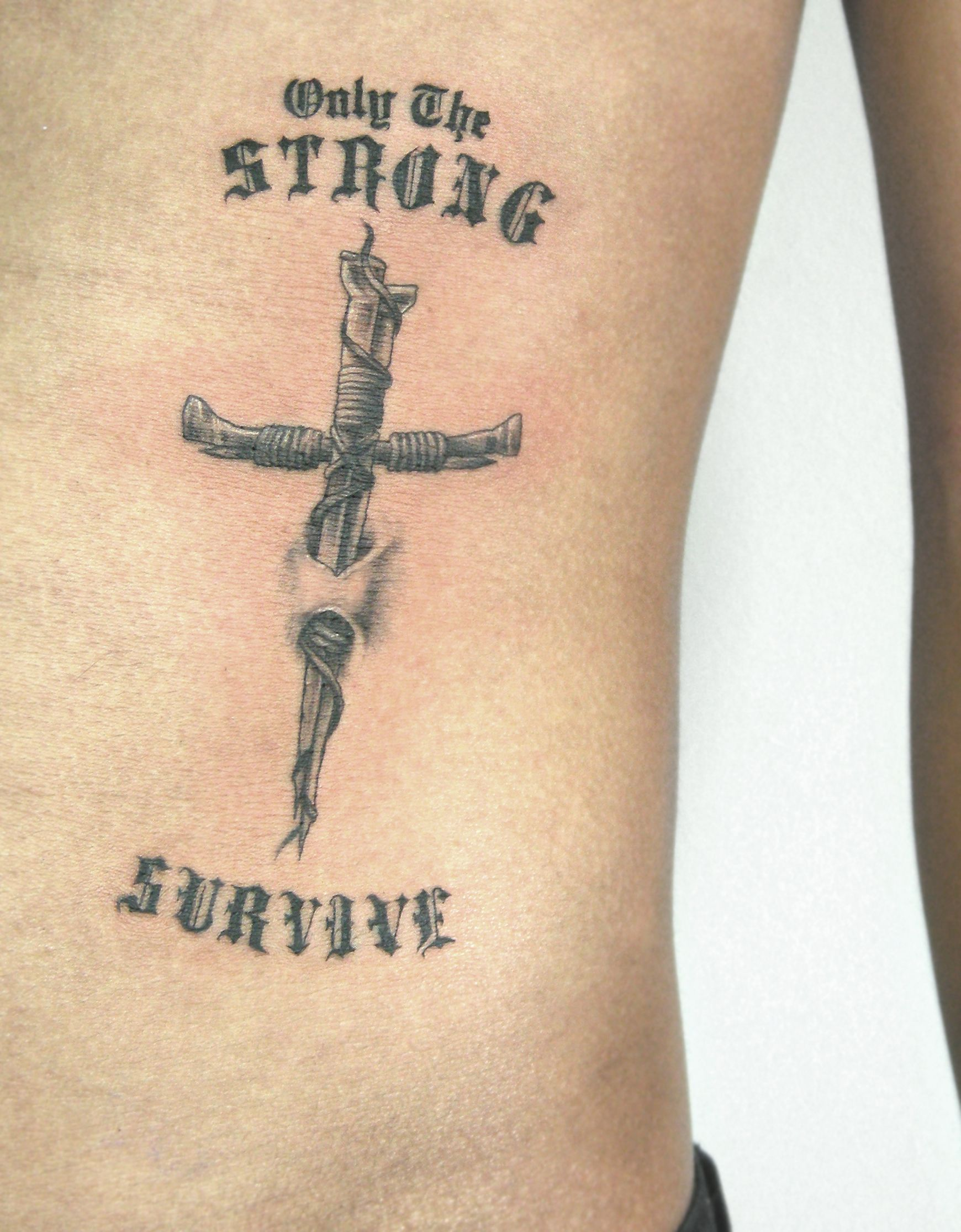 Two Nails Crossed Tattoo Meaning: Pin On RedGrey Art Gallery