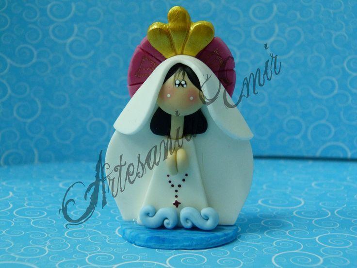 Mini-Botero -- Virgen del Valle | Virgencitas y Santos | Pinterest