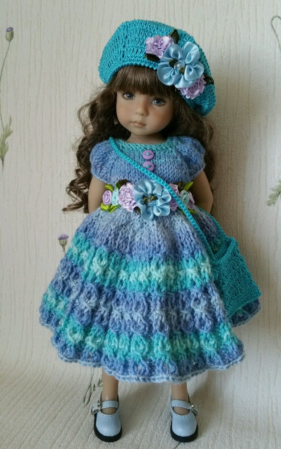 """ООАК Outfit for Doll 13"""" Effner Little Darling Hand Made 