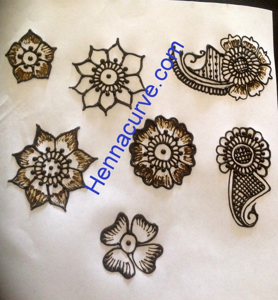 Mehndi For Starters : Mehndi designs for beginners step by flowery henna