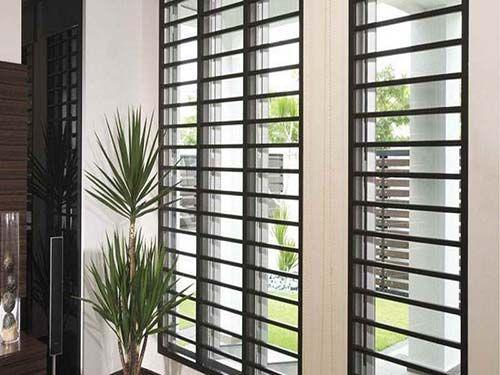 Rejas para ventanas modernas herreria pinterest - Rejas de casas modernas ...