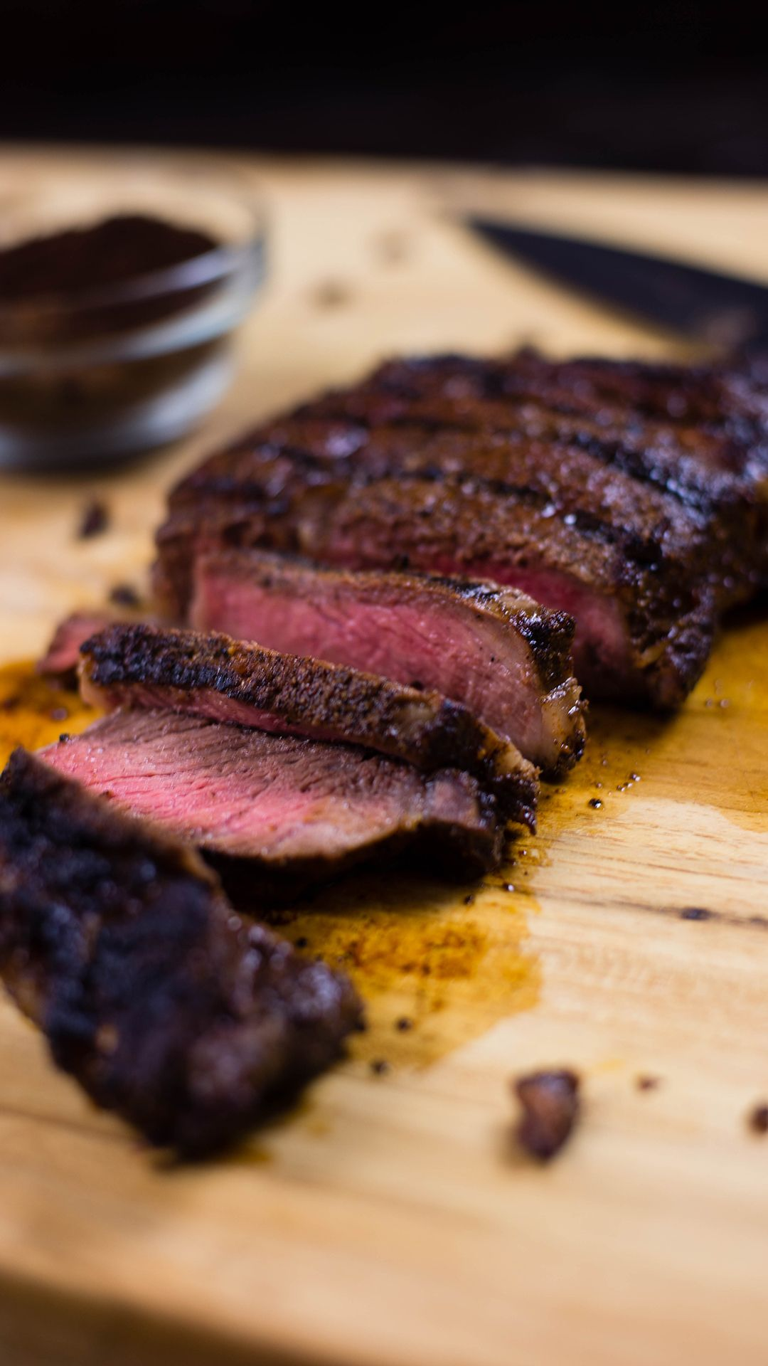 Photo of Grilled Coffee Rubbed Steak
