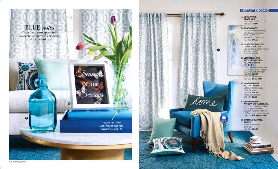 eBrochure | AVON Living some amazing inspiration for your home #Avon #living #home #decor