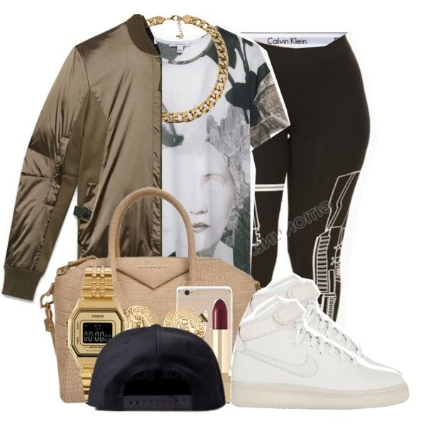 Sans titre #369 by yvng-aphrodite on Polyvore featuring polyvore, fashion, style, Carven, Calvin Klein Underwear, NIKE, Givenchy, Casio, Black Scale and Helmut Lang