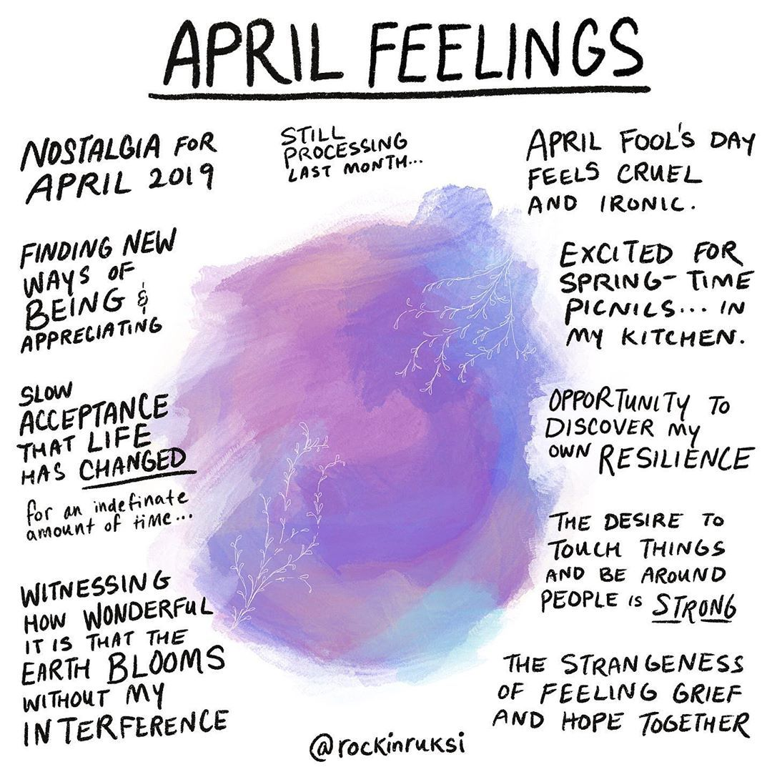 Rukmini Poddar On Instagram Day 97 100 April Feelings Could Not Feel More Strange This Year It Took Me A While To Even Wonder Wha In 2020 Feelings Take That Ironic