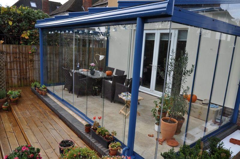Blue Glasoase Verandas Pinterest Glass Room Planning