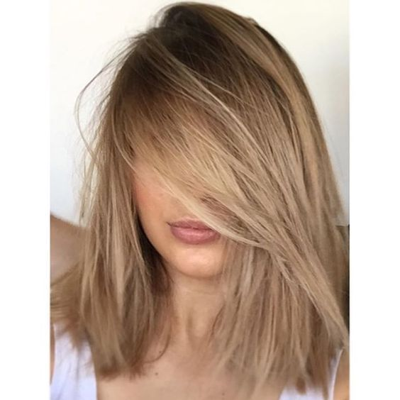 Light Caramel Hair Color With Blonde
