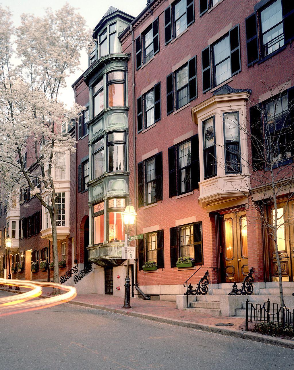 Boston Massachusetts Beacon Hill Boston Historic