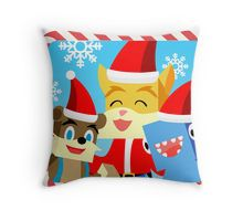 Stampylonghead Christmas.Minecraft Christmas Gift Stampy Cat And Friends Throw