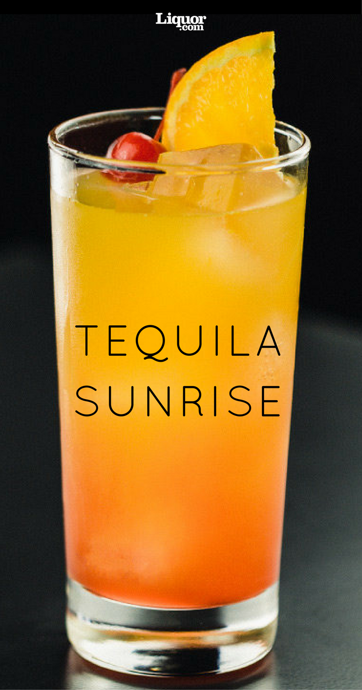 Tequila Sunrise Recipe Tequila Sunrise Recipe Orange