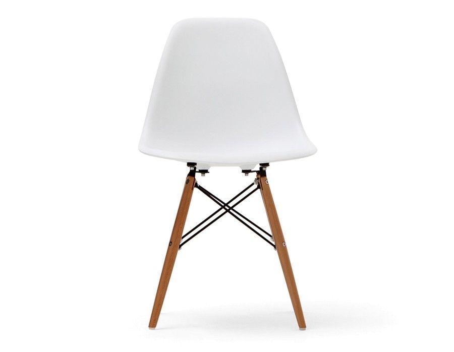 EIFFEL Chaise avec base en bois