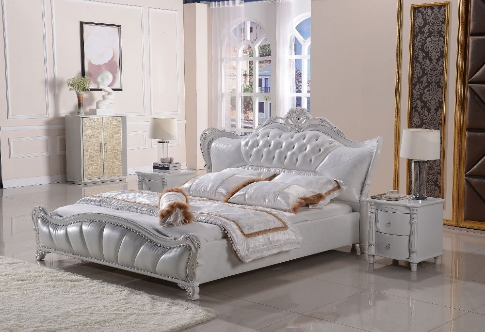 children\u0027s sleigh bed bedrooms Letti in Pelle Moderno-Acquista a