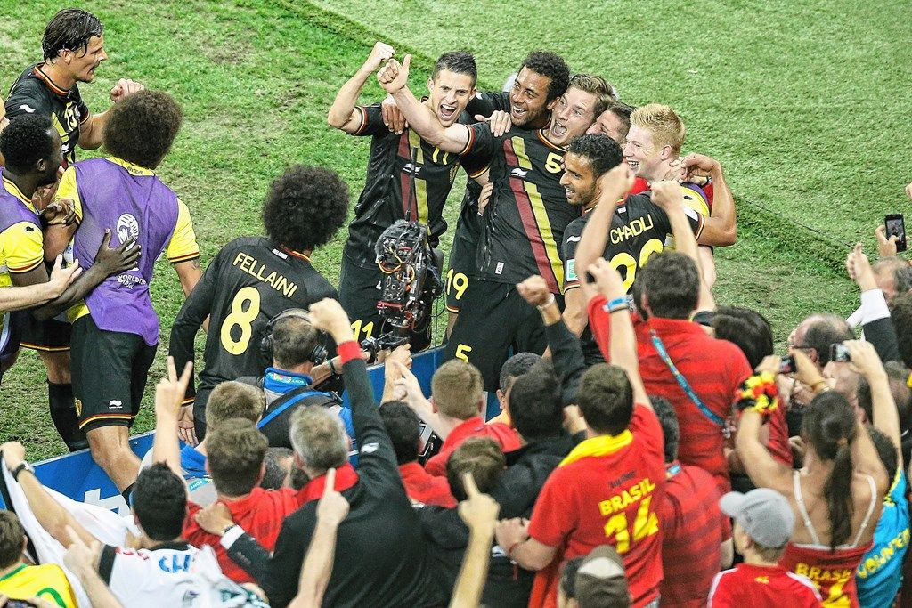 België schrijft geschiedenis! Voor het eerst wint het de poule en met het maximum van de punten!