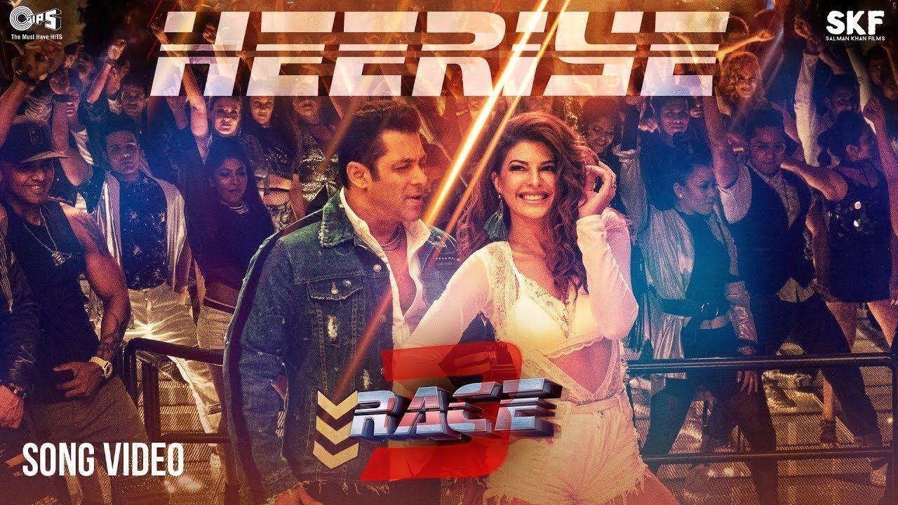 Heeriye Song Video Race 3 Salman Khan Jacqueline Meet Bros Ft De Bollywood Music Hindi Movie Video Bollywood Songs