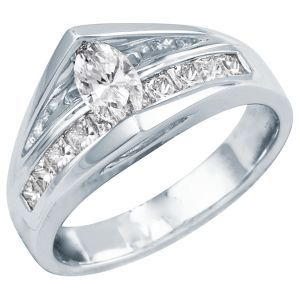helzberg diamonds tw diamond engagement ring fire and ice - Helzberg Wedding Rings