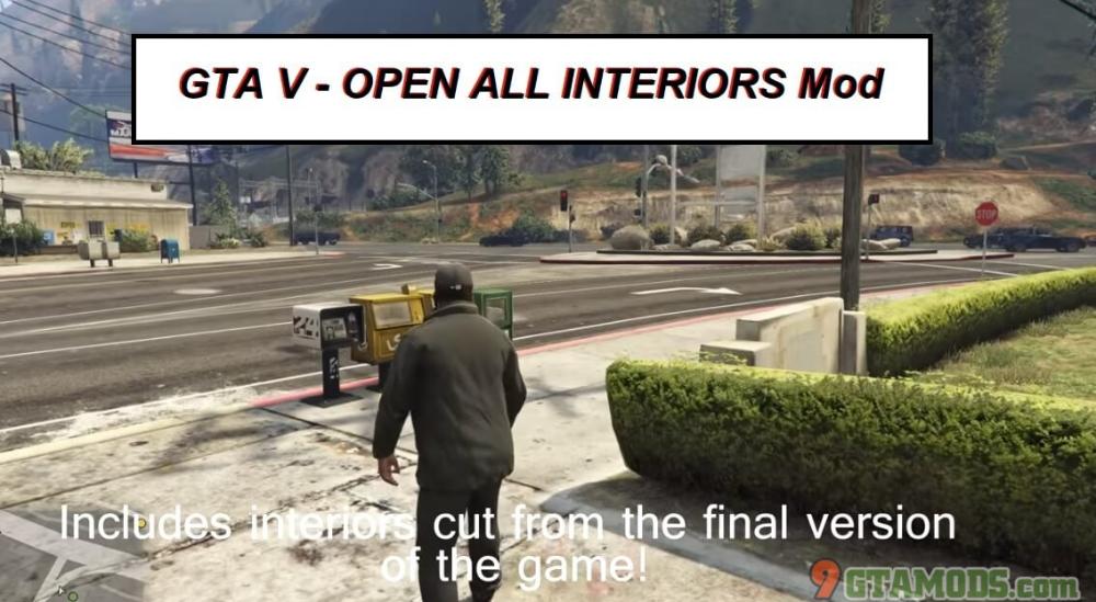 Open All Interiors Gta V Gta 5 Mod Interiors Gta Gta 5 Mods New World