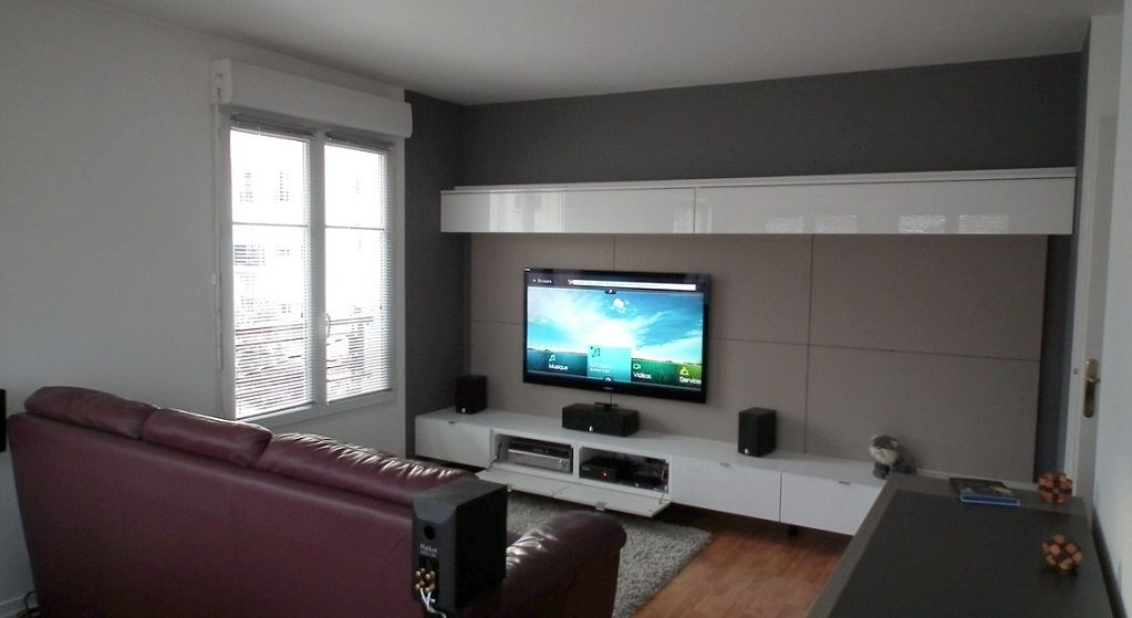 album 5 banc tv besta ikea r alisations clients s rie 2 diningroom pinterest tv. Black Bedroom Furniture Sets. Home Design Ideas