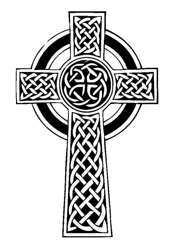 Pin On Celtic Cross Coloring Pages