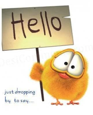 just dropping by to say..... Hello!!! | (˘ ˘) Just ...