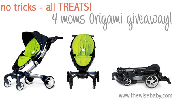4moms Origami Stroller Review - Techlicious | 348x600