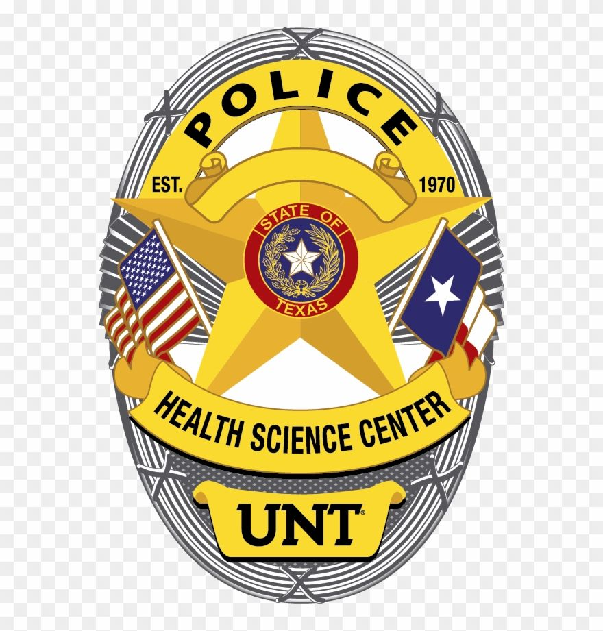 Hsc Police Badge University Of North Texas Clipart 1640012 University Of North Texas Police Badge Clip Art