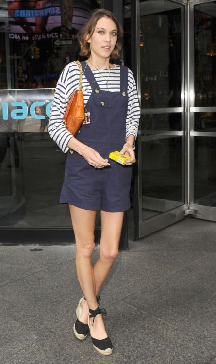Alexa Chung out and about in New York City | June 16, 2009