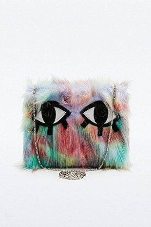 Joanna Pybus Aurora Faux-Fur Monster Bag - Urban Outfitters