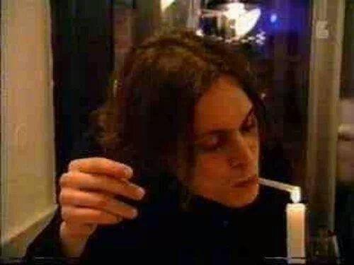 Omg! So lovely and sexy. ♥♥♥. #VilleValo #HIM #HisInfernalMajesty