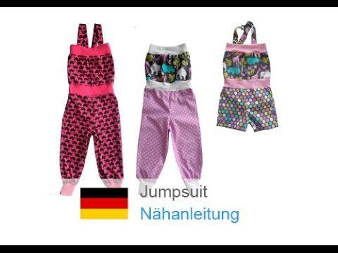 overall jumpsuit einteiler hosenanzug sole selber n hen n hen f r anf nger youtube. Black Bedroom Furniture Sets. Home Design Ideas