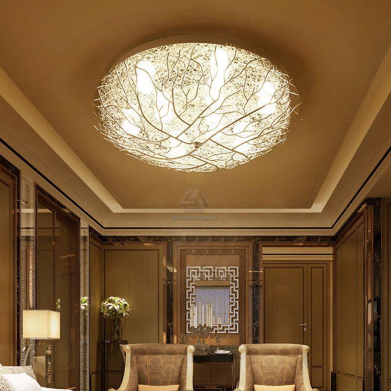 White Creative Nordic LED DIY geometry lighting ceiling BeCxdo