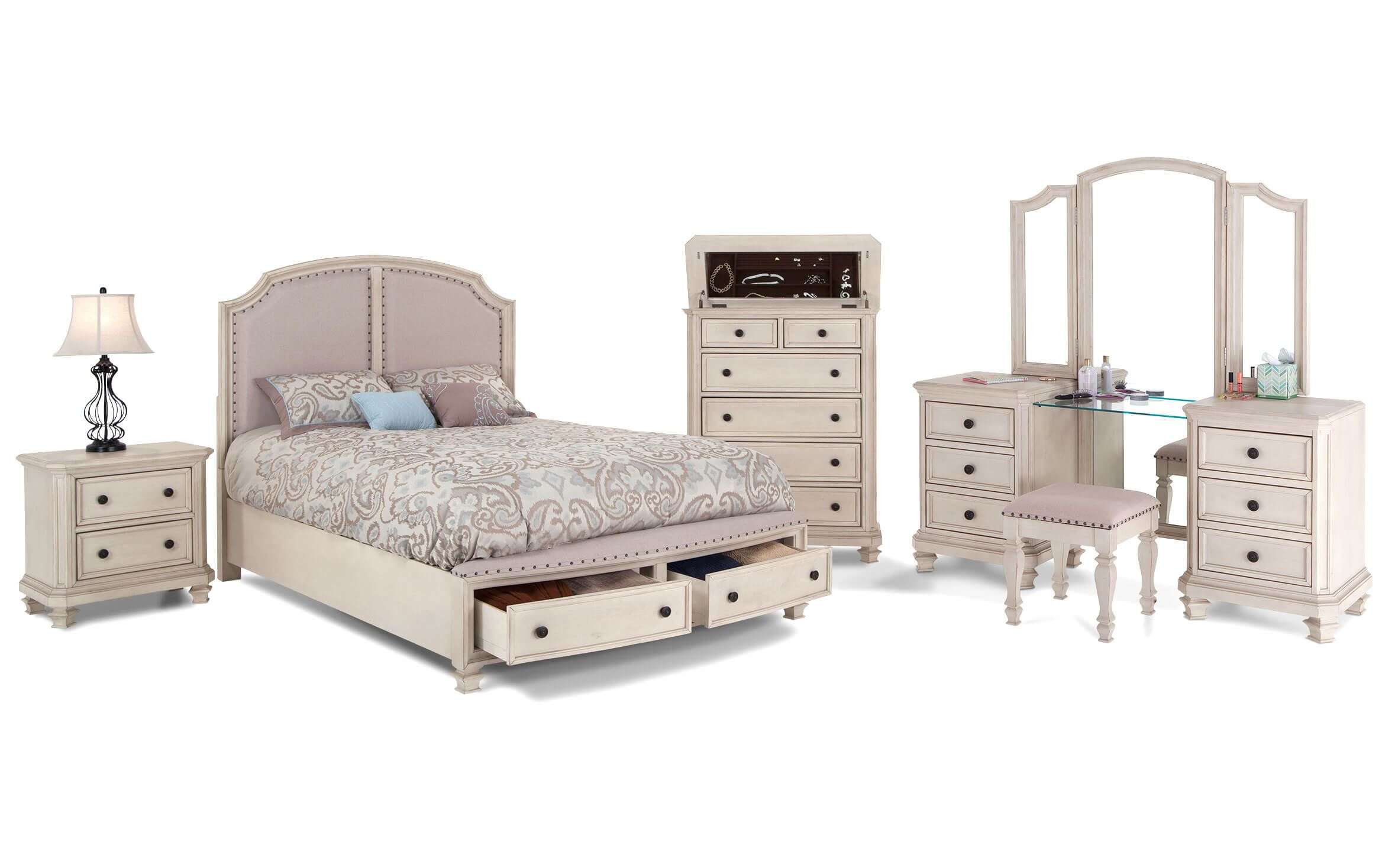 Euro Cottage Bedroom Set | Home decorating ideas | Discount ...