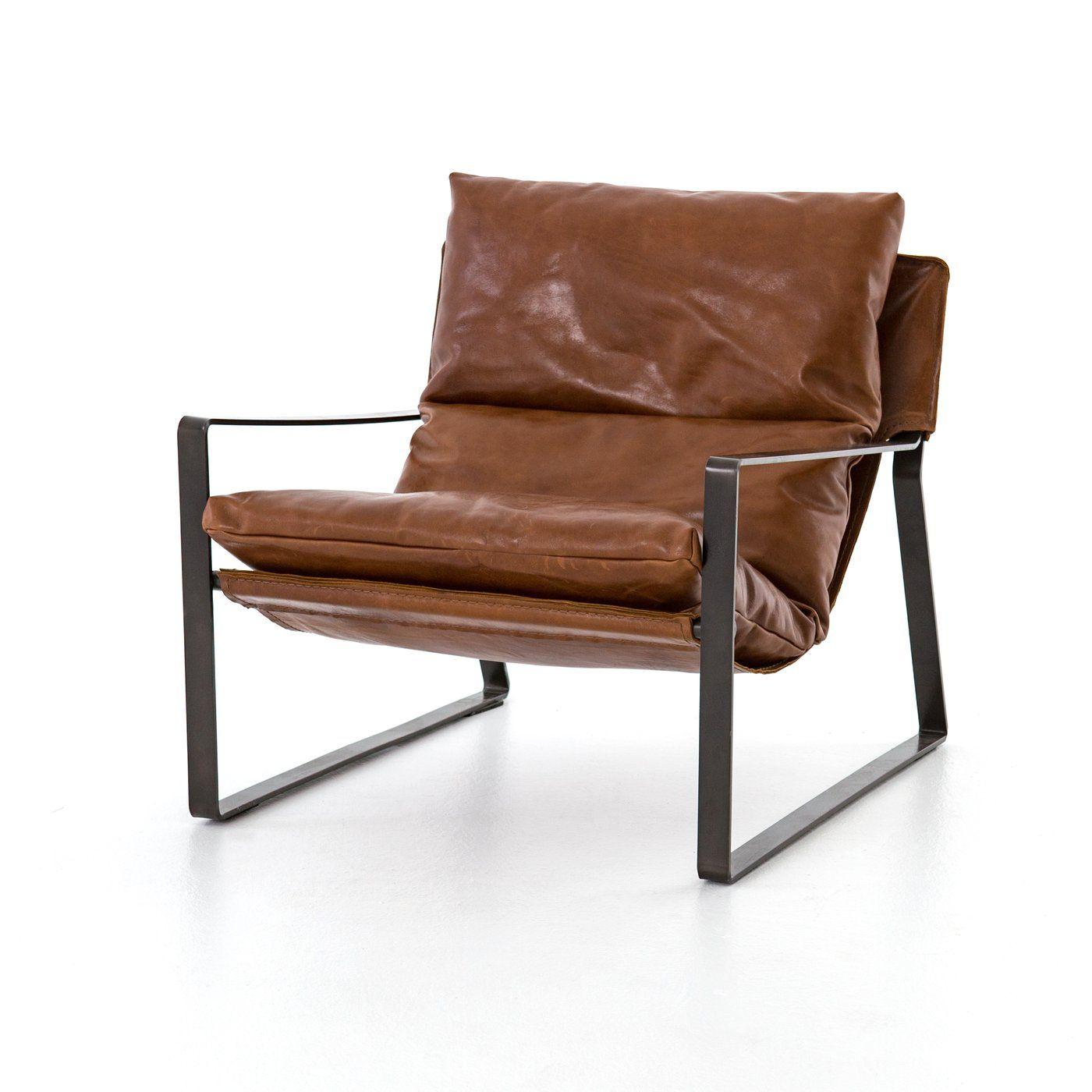Emmett Sling Chair Dakota Tobacco In 2019 New Place