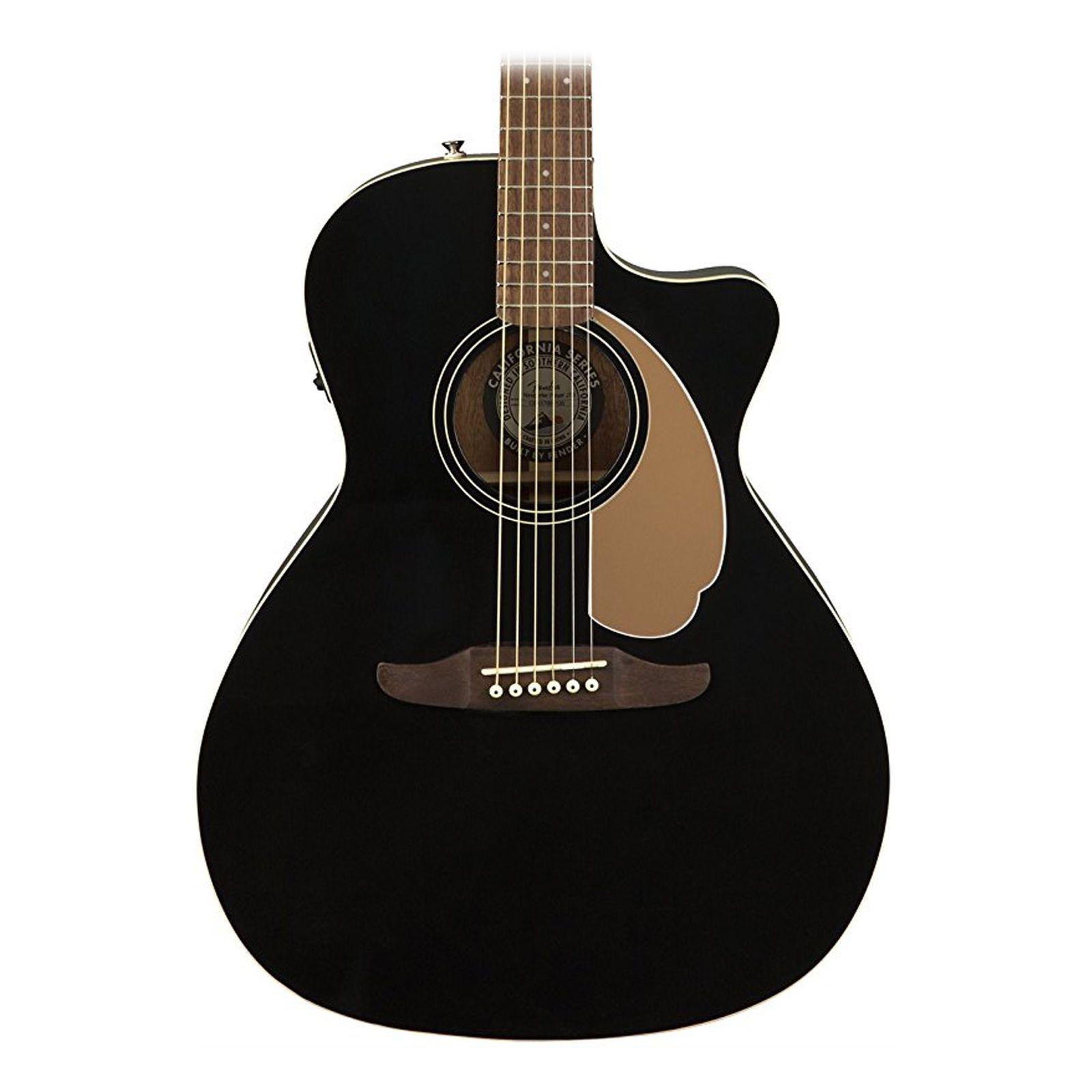 Fender Newporter Player California Series Acoustic Guitar Jetty Black Finish   Guitar. Acoustic guitar. Acoustic