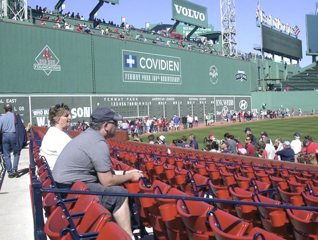 A tour of Fenway Park is always a good take!