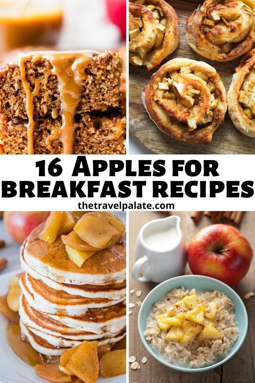 16 Apples For Breakfast Recipes Apple Breakfast Breakfast Recipes Breakfast