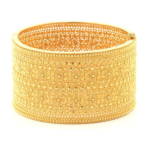 Indian 22kt gold cuff bracelet Kundan Various Indian Jewelry