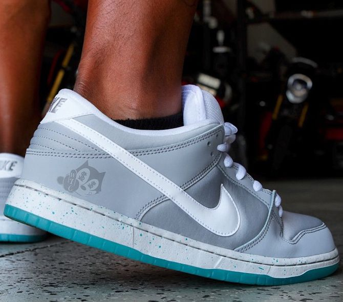 """9bdd189a8 Nike Dunk Low Pro SB """"Air Mag"""" More Images"""